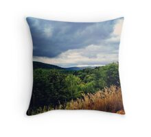 Upstate Mountains Throw Pillow