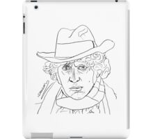 Tom Baker - 4th Doctor iPad Case/Skin