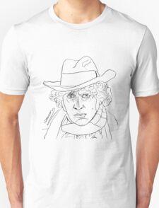 Tom Baker - 4th Doctor Unisex T-Shirt