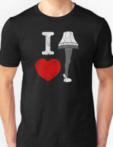 I Love Lamp Unisex T-Shirt