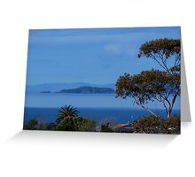 The Noises Islands......Auckland outer harbour.......! Greeting Card