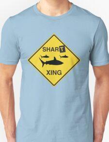Shart Crossing Unisex T-Shirt