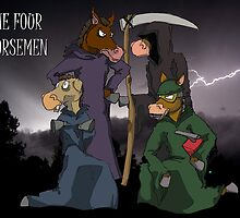 The Four Horsemen  by TheKingLobotomy