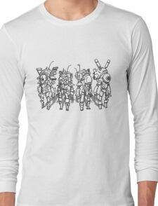 Pixel Mech Squad MKI Long Sleeve T-Shirt