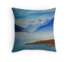 Another Blue Day Downunder Throw Pillow