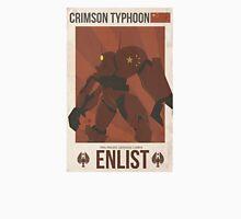Crimson Typhoon Unisex T-Shirt