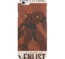 Crimson Typhoon iPhone Case/Skin