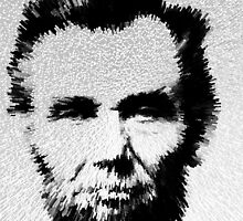 Modern Abe - Abraham Lincoln Art by Sharon Cummings by Sharon Cummings