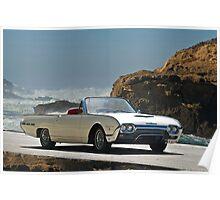 1962 Ford Thunderbird Roadster Poster
