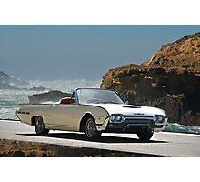 1962 Ford Thunderbird Roadster Photographic Print