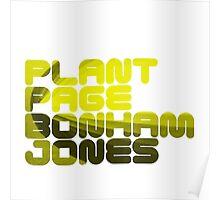 Plant Page Bonham Jones Poster