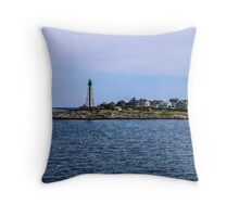 Marblehead Light In Marblehead Neck 2 Throw Pillow