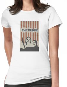 The Purge Womens Fitted T-Shirt