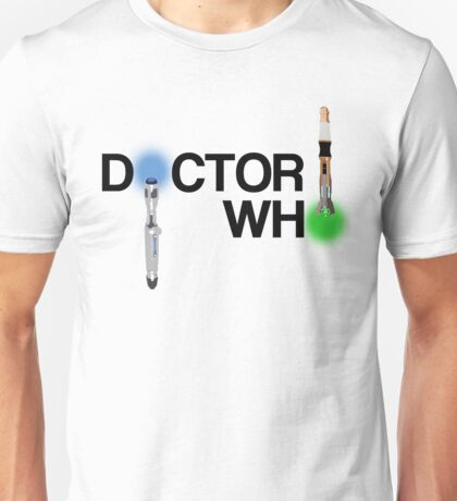 Doctor Who and Sonic Screwdrivers #1 Unisex T-Shirt