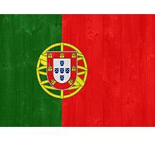 Portugal flag Photographic Print