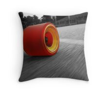 Life Of A Longboarder Throw Pillow