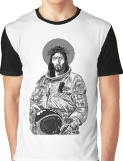 Astro Jesus Graphic T-Shirt