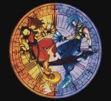 Sora and Riku Clock Edit (by GloomyGloo) by VennDiagram