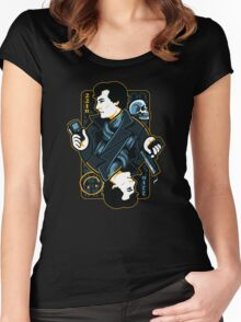 The Detective of 221B Women's Fitted Scoop T-Shirt