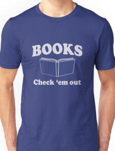Books. Check'Em Out Unisex T-Shirt