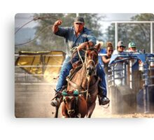 Staying Focused on the Target Canvas Print
