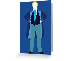 The Sixth Doctor - Doctor Who - Colin Baker (Real Time) Greeting Card
