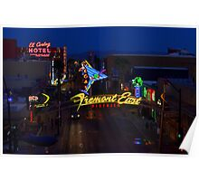 Las Vegas Fremont East Poster