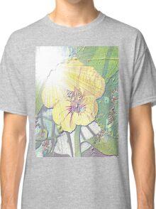 Sunlight on nasturtium Classic T-Shirt