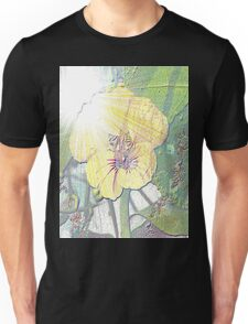 Sunlight on nasturtium Unisex T-Shirt