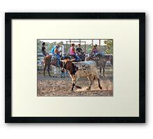 Sneak By Framed Print