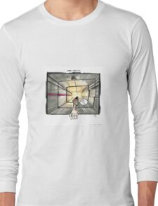 Nakatomi Lift Shaft Christmas Card Long Sleeve T-Shirt