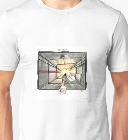 Nakatomi Lift Shaft Christmas Card Unisex T-Shirt