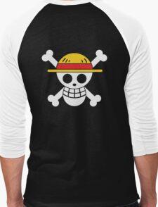 Luffy - OP Pirate Flags - Colored Men's Baseball ¾ T-Shirt