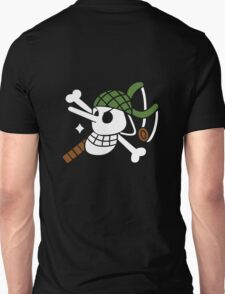 Ussop - OP Pirate Flags - Colored T-Shirt