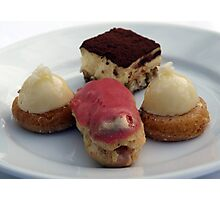 Desserts from Patina Photographic Print