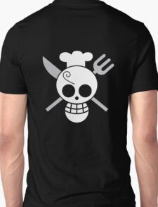 Sanji - OP Pirate Flags - Colored Unisex T-Shirt
