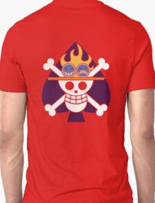 Ace - OP Pirate Flags - Colored Unisex T-Shirt