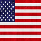 United States of America flag by luissantos84