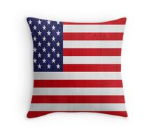 United States of America flag Throw Pillow