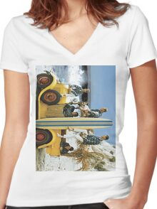 The Beach Boys Women's Fitted V-Neck T-Shirt