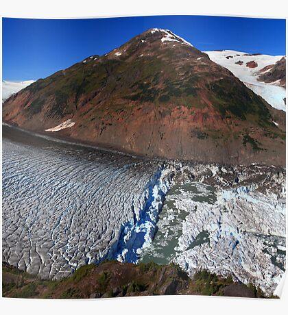 Glacier breaks Poster