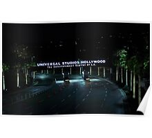 Universal Studios Hollywood, Ca. Poster
