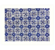 Portugal Tile Number Fifteen Art Print