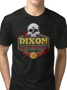 Walking Dead Inspired - Dixon Custom Prosthetics - Merle Dixon - Killing Zombies - Little Merle Tri-blend T-Shirt