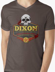 Walking Dead Inspired - Dixon Custom Prosthetics - Merle Dixon - Killing Zombies - Little Merle Mens V-Neck T-Shirt