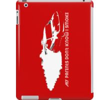 iPad Case - My Parents Don't Know I Smoke - Red iPad Case/Skin