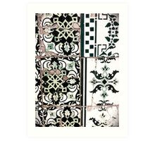 Portugal Tile Number Nineteen Art Print