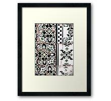 Portugal Tile Number Nineteen Framed Print