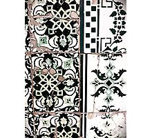 Portugal Tile Number Nineteen Photographic Print