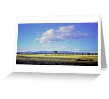 View of the Nandewar Range  Greeting Card